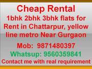 cheap rental flat in delhi